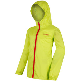 Regatta Pack-It III Jacket Kids Lime Zest